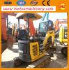 Excavador usado de la correa eslabonada de KOMATSU PC25mr para la construcción