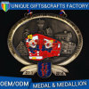 La medalla de oro de encargo más nueva del medallón del maratón del metal 2017 3D