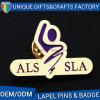 Brooch su ordinazione di Pin del risvolto del distintivo del metallo della fabbrica dell'OEM