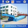 Uso do reboque do caminhão e reboque de Lowbed da certificação do ISO do CCC Semi