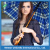 Patio Umbrella de Wooden Auto Open Golf de mode pour Outdoor