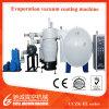 Type horizontal machine thermique de métallisation sous vide d'évaporation de résistance