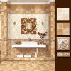 Pared de cerámica rústica esmaltada interior material Boeder de la decoración y azulejo