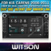 KIA Carens 2006-2011년 Car를 위한 Witson Car DVD DVD GPS 1080P DSP Capactive Screen WiFi 3G Front DVR Camera