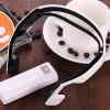 O rádio seguro do fone de ouvido ostenta o fone de ouvido estereofónico dos auriculares de Bluetooth