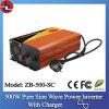 500W 48V gelijkstroom aan 110/220V AC Pure Sine Wave Power Inverter met Charger