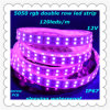 Narrow PCB 3m Tape 12V 5m 120LEDs/M Double Row RGB Sleeve Waterproof IP67 Flexible SMD5050 LED strip Light