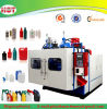 botella plástica del HDPE 1-5L que sopla haciendo la máquina