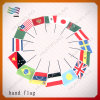 Bandeira da mão do poliéster de 100% mini (HYHF-AF029)