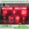 Im Freien LED-elektronische Anzeigetafel