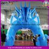 熱販売のイベントの入口の膨脹可能で青いアーチ