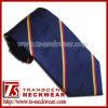 Cravate de logo de polyester
