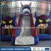 Vergnügungspark-Spielplatz-aufblasbares Prahler-Schloss-aufblasbares Schloss mit Plättchen für Verkauf