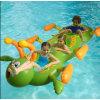 De opblaasbare Drijvende Matras van de Lucht van de Rupsband van het Water, de Vlotter van de Pool