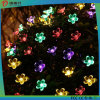 Precio de fábrica Decoración del árbol de Navidad Flor Forma LED Luz
