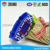 Debossed und Farbe gefüllter SilikonWristband für Förderung