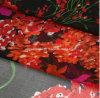 아름다운 인쇄된 실크 시퐁 직물