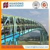 Transportador de correa curvado horizontal de la alta calidad