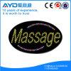 Oval de Hidly o sinal do diodo emissor de luz da massagem de Ásia