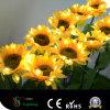 Allumage des tournesols des fleurs artificielles DEL