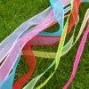 Свободно тесемка полиэфира 100% образца чисто Silk в штоке