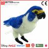 Oiseau bourré réaliste de jouet de peluche de faucon pérégrin