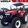4WD de Tractor van het Landbouwbedrijf van de Aandrijving van het Wiel 110HP met Ce