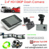 Hot Sale Gift Car DVR 2.4 720p VGA Camera Digital Video Recorder com 120 graus de ângulo de visão, 1.0mega CMOS no Dash Parking Camera DVR-2440