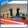 Pavimento gonfiabile usato dell'interno dell'aria di ginnastica della strumentazione di sport, materasso di aria gonfiabile per ginnastica, materasso di aria gonfiabile di ginnastica