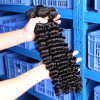 100%のマレーシアのペルーの毛の拡張未加工Remyの自然な毛