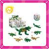 驚きの卵のカプセルの恐竜の困惑のブロック