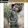ロシアのジャングルの戦術的な人のハンチングキャンプの羊毛の軍隊はジャケットに塗る