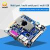 Mini réseau local de la carte mère 2 de mini d'Itx dual core d'atome, carte mère d'atome d'Intel