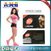 Cartão Printable personalizado da lealdade da aptidão do PVC RFID do plástico
