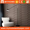 Papiers peints décoratifs intérieurs respectueux de l'environnement du bambou 3D