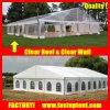 Большой ясный шатер свадебного банкета шатёр пяди для сбывания