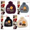 (LKN14001)冬によって編まれるバケツの帽子