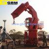 Mini boum de télescope de grue/grue marine Cylindar hydraulique de navire-grue de potence