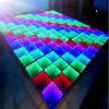 Diodo Emissor de Luz Dance Floor de 3D Mirror Glass
