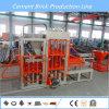 Máquina de fabricación de ladrillo automática del precio competitivo con vídeo de ultramar del proyecto