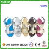 2016 sandalias con estilo modernas más nuevas de las mujeres elegantes del PVC (RW28762B)