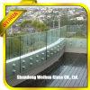 Verre feuilleté gâché par fer inférieur pour le balcon