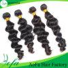 Выдвижение человеческих волос волос девственницы объемной волны цены по прейскуранту завода-изготовителя индийское