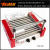 Mode Durable Sausage Machine, 11 Rollers Electric Hot Dog Grill avec Glass Cover, CE Approved (WY-011)