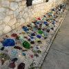 Hecho en China Blue Glass Rocks Precio bajo
