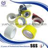 Cinta adhesiva de acrílico amarilla del embalaje del claro 63mic BOPP de Corea