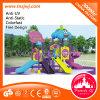 Campo de jogos natural ao ar livre pré-escolar para miúdos