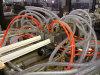 Guichet de PVC de qualité et machine d'extrusion de profil de porte