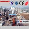 O profissional projetou a planta de produção do cimento para a venda