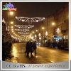 Luz ao ar livre impermeável da decoração das skylines do Natal do diodo emissor de luz do motivo da rua